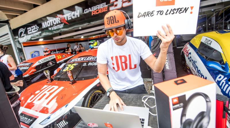 JBL transforma Stock Car em uma grande balada