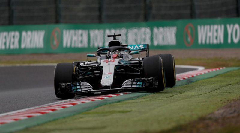 F1: Lewis Hamilton é o mais rápido no segundo treino livre para GP do Japão