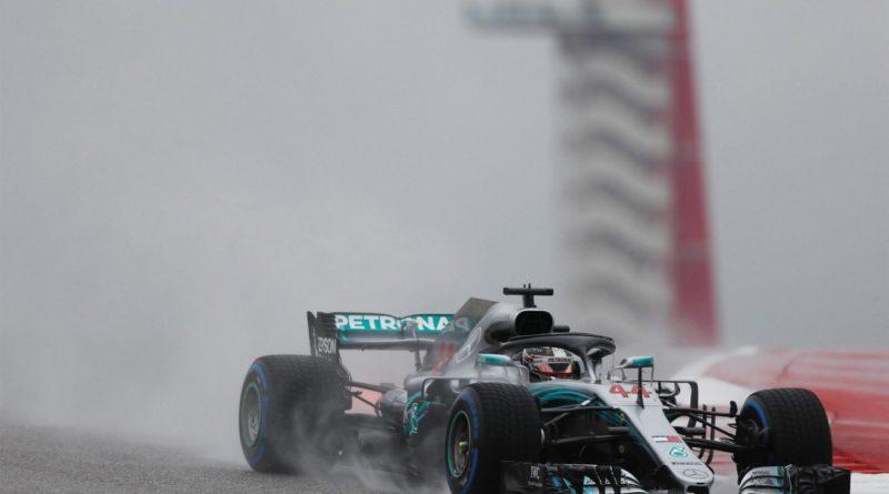 F1: Na chuva, Lewis Hamilton domina 1º Treino Livre em Austin