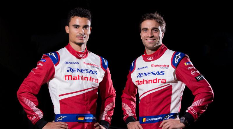 Fórmula-E: Mahindra Racing contrata Pascal Wehrlein e Jerome D'Ambrosio