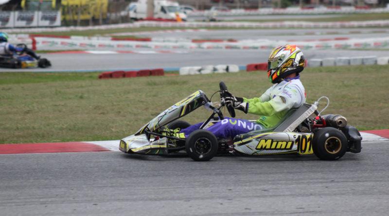 Kart: Mateus Barella terá dia com tomadas de tempos e corrida na 20ª edição da Copa Brasil