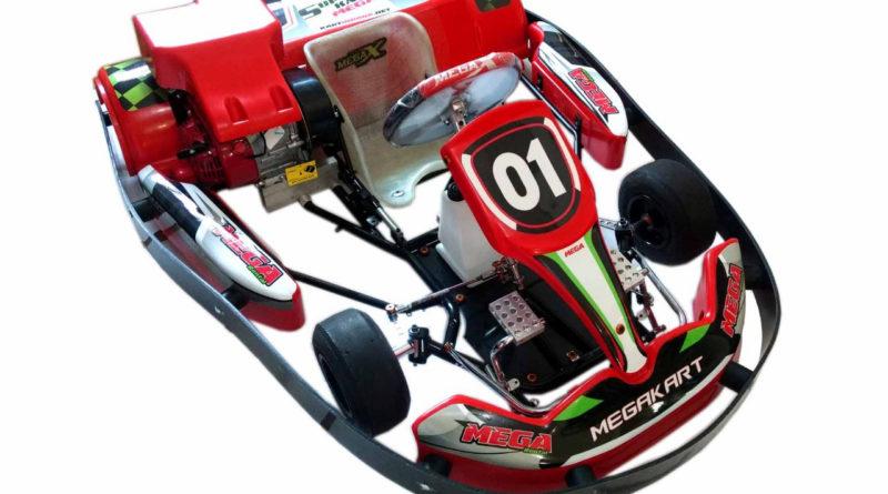 Mega Kart anuncia lançamento de novo chassi infantil para o kartismo de locação e lazer