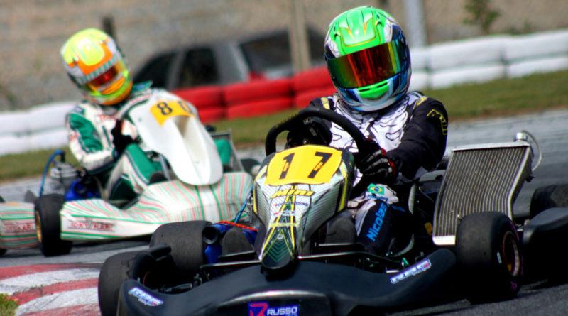 Kart: Nicolas Fabris teve saldo positivo no Open Minas e chegará confiante para a disputa da Copa Brasil