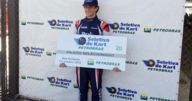 Pedro Lopes conquistou vaga para a final da Seletiva de Kart Petrobras