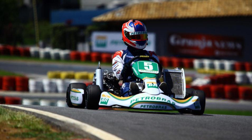 Pedro Lopes foi destaque em sua primeira participação em uma final de Seletiva de Kart Petrobras