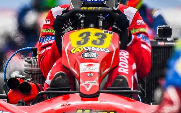 Problema no freio atrapalhou Rodrigo Piquet em sua luta por mais um título da Copa Brasil de Kart