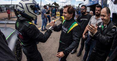 Endurance Brasil: 1, 2, 3 vezes Lamborghini Huracán #19 de Chico Longo e Daniel Serra