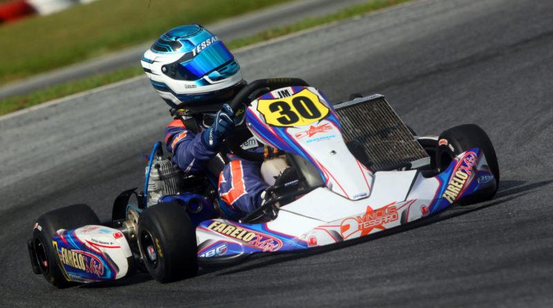 Kart: Vinícius Tessaro disputou o Open Minas e está pronto para lutar pelo bicampeonato na Copa Brasil