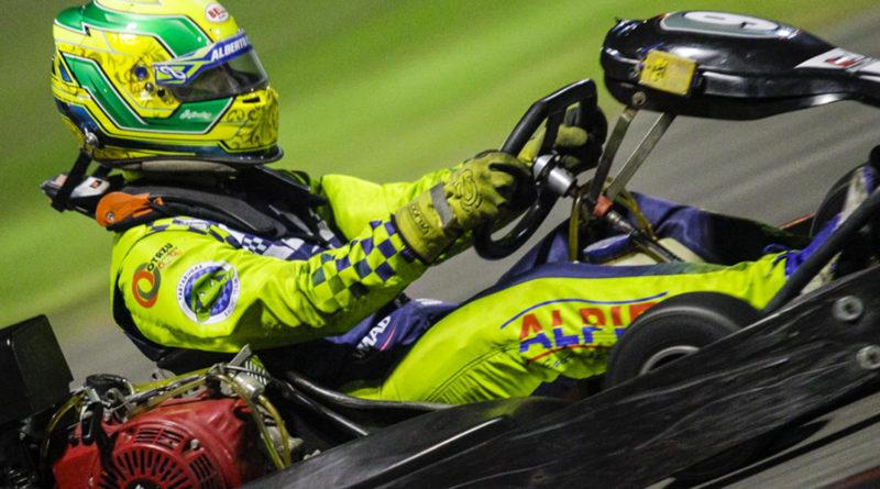 Kart: Piloto Alberto Otazú quer a sexta vitória na temporada