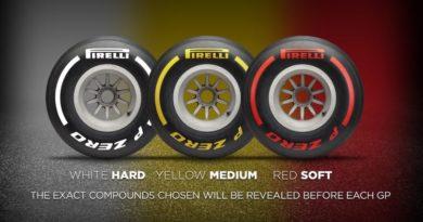 F1: Pirelli simplificará cores dos pneus para 2019