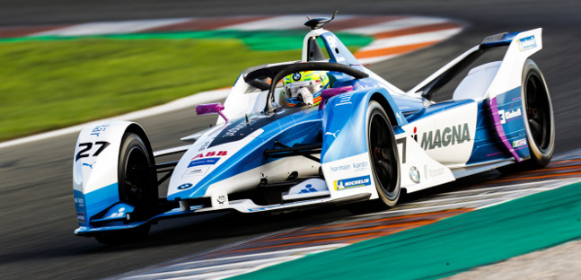 Fórmula-E: Alexander Sims é o mas rápido no primeiro dia de testes