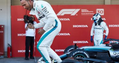 F1: Lewis Hamilton domina GP do Japão