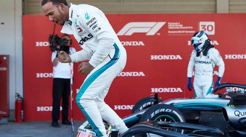 F1: Lewis Hamilton domina GP do Japão
