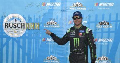 NASCAR Monster Energy Cup Series: Kurt Busch marca a pole no Talladega Superspeedway