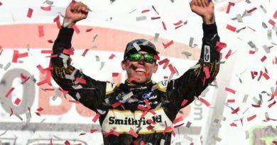 NASCAR Monster Energy Cup Series: Aric Almirola vence em Talladega