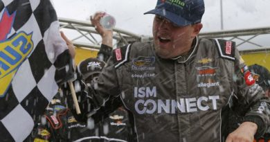 NASCAR Camping World Truck Series: Johnny Sauter vence em Martinsville