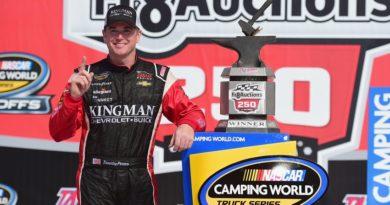 NASCAR Camping World Truck Series: Timothy Peters vence em Talladega