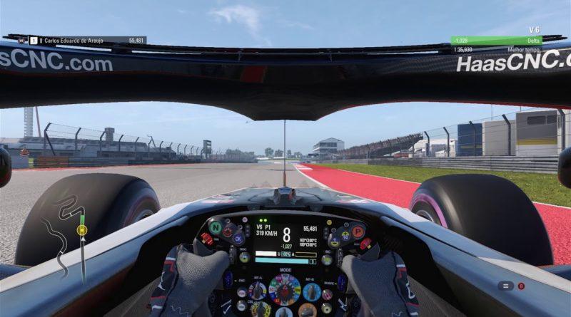 F1: Confira uma Volta Virtual em Austin – GP dos Estados Unidos 2018