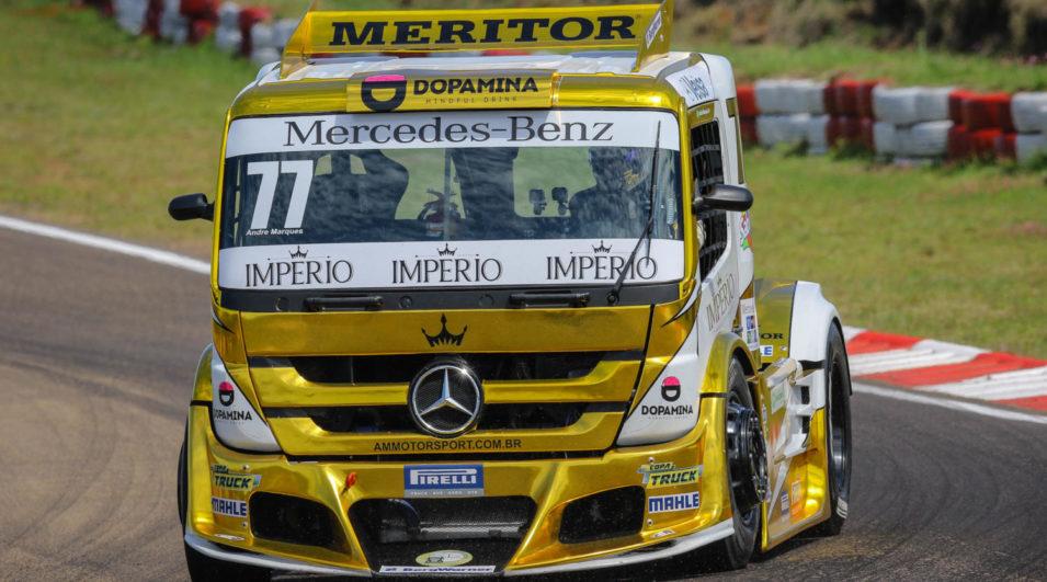 Copa Truck: Líder da classificação, André Marques tem receita simples para o título
