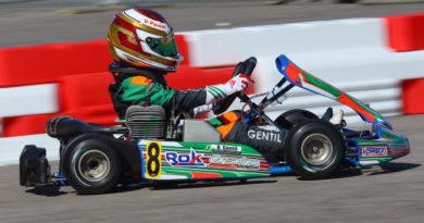 Kart: Bernardo Gentil terminou em 3ª na Micro Rok e subiu no pódio do ROK The Rio em Las Vegas