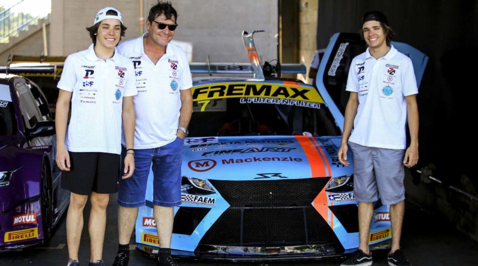 Christian e Nicolas Fliter completam com êxito a etapa de estreia na Sprint Race Brasil