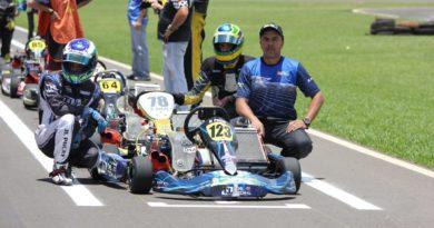 João Luís Pocay e Neto Carrijo levaram a Elohim Kart à dupla vitória na Copa 100 Anos Ourinhos