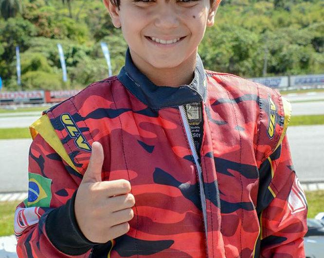 Kart: João Pinheiro Filho chegou ao sétimo título na temporada e concorrerá ao Capacete de Ouro