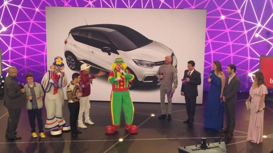 Renault doa Captur 0 KM à AACD no Teleton 2018