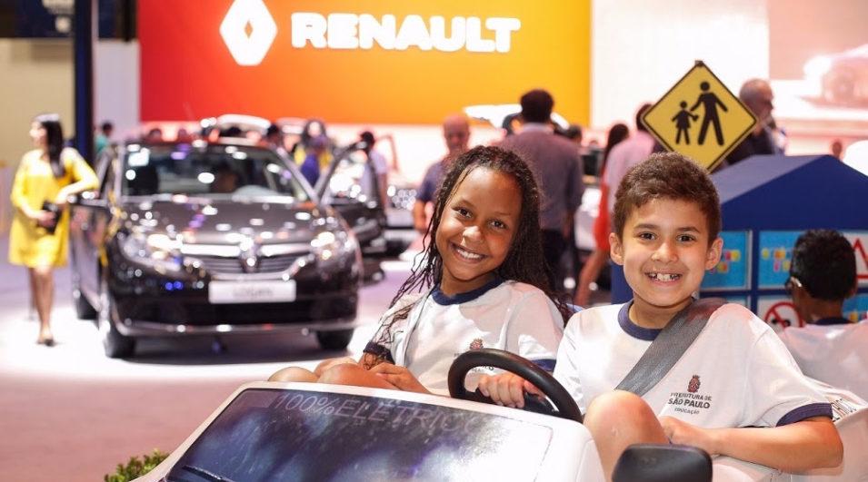 Renault leva programas de sustentabilidade socioambiental ao Salão do Automóvel