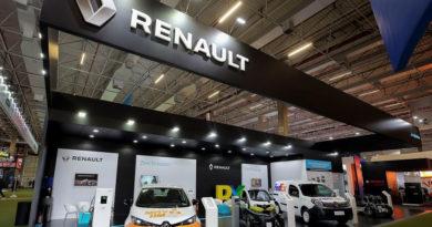 Renault expõe carros 100% elétricos