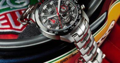TAG Heuer lança edição especial em homenagem a Ayrton Senna