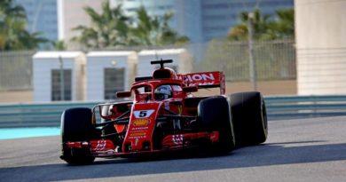 F1: Vettel encerra primeiro dia de testes na frente em Abu Dhabi