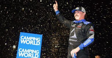 NASCAR Camping World Truck Series: Brett Moffitt vence em Homestead e conquista o título de 2018