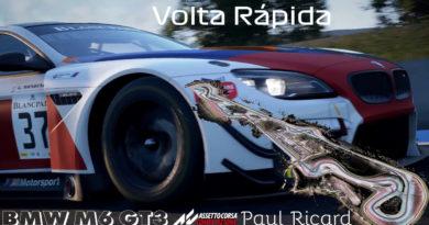 Jogos: Assetto Corsa Competizione - Volta rápida em Paul Ricard - BMW M6 GT3