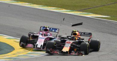 F1: Ocon diz que Verstappen não é profissional e o chama de violento