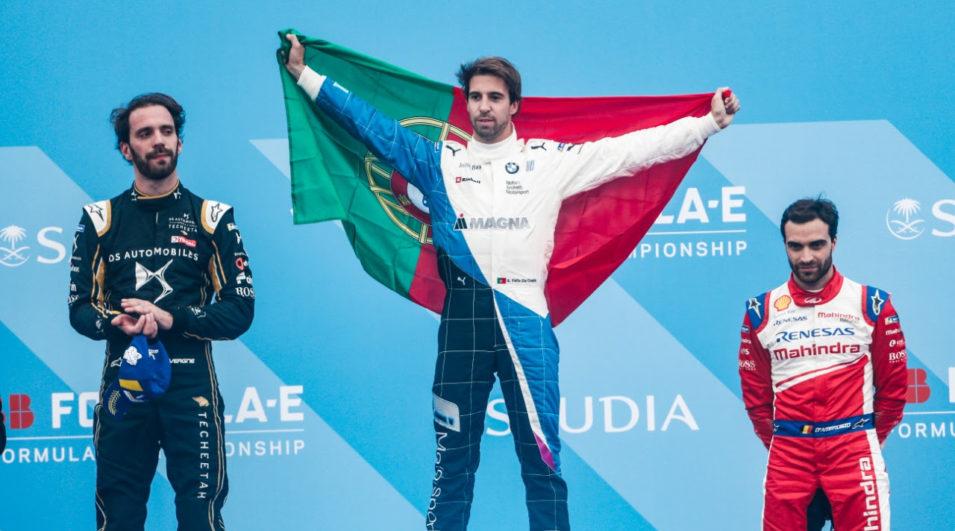 Fórmula-E: Antônio Félix da Costa vence em Ad Diriyah