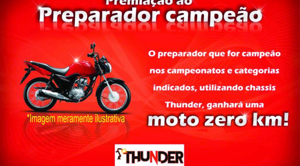 Kart: Thunder premiará preparadores campeões em três eventos do kartismo brasileiro