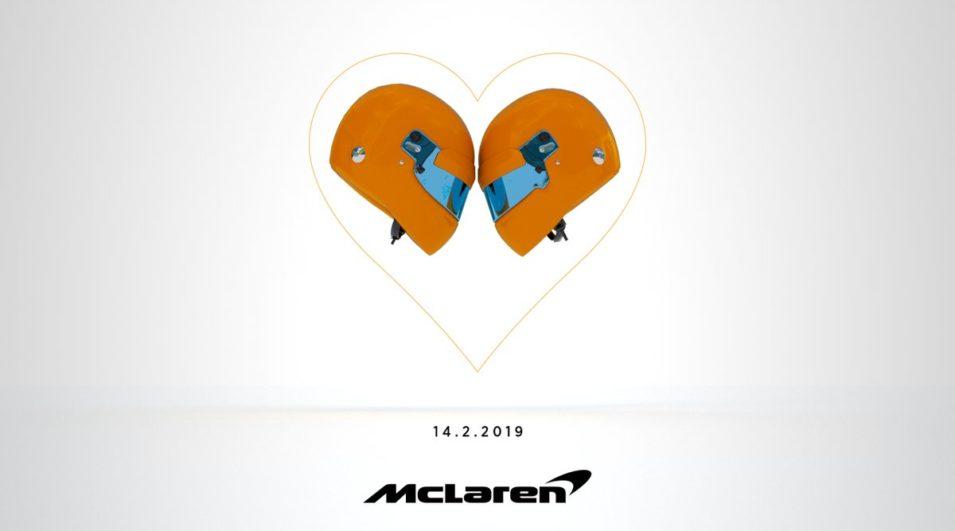 F1: McLaren mostrará em 14 de fevereiro seu carro carro para 2019