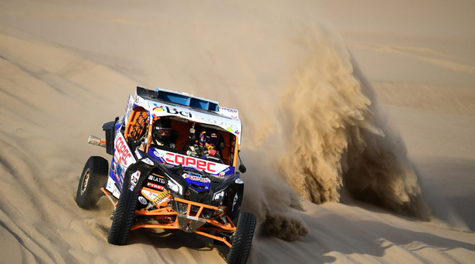 Rally Dakar: Can-Am Maverick X3 é campeão dos UTVs no Rally Dakar pelo 2º ano