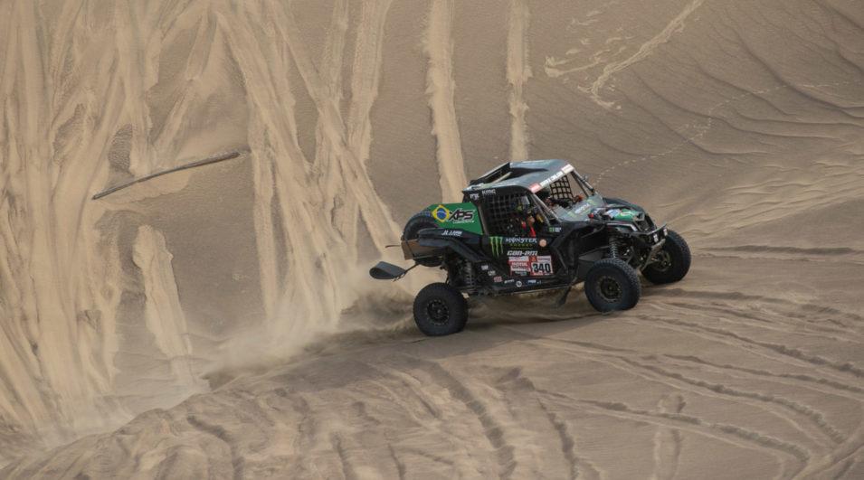 Rally Dakar: Brasileiros vencem nona etapa e sobem para o terceiro lugar da categoria para UTVs