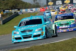 Chevrolet Astra campeão com Giuliano Losacco no ano de estreia (2005)