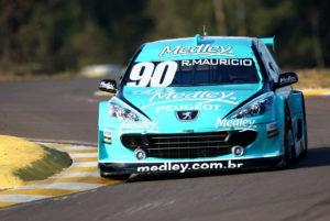 Peugeot 307 estreou em 2007. Foi campeão com Ricardo Maurício (2008)
