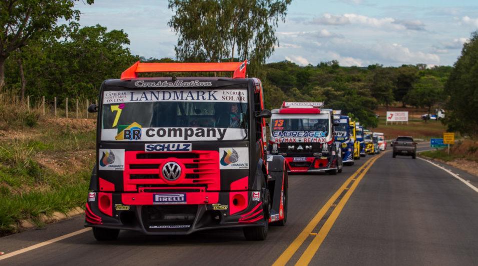 Copa Truck nas ruas